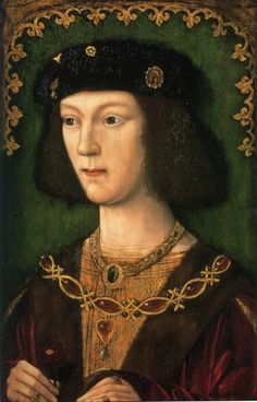 Henry VIII at the age of 12 before he married Catherine of Aragon. Surely he looks elder then  our children at his age. But at Tudor time children started to wear the same gowns as grown-ups did at the age of 4; at 8 they spoke several languages; at 14 they were recognized old enough to marry and have children.