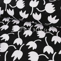 č.1612 úplet - tulipán na černé