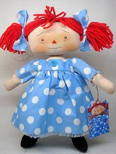 Raggedy Ann Dolls by Annieprimdolls item no A20121025