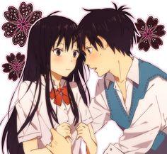 KIMI NI TODOKE   Sawako Kuronuma and Shota Kazehaya