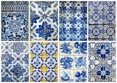 blue and white tiles, my new favourite thing