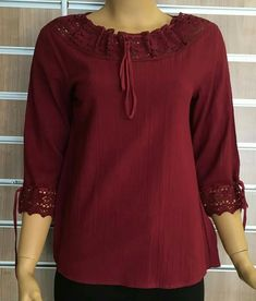 Blouses for women – Lady Dress Designs Blouse Styles, Blouse Designs, Middle Ages Clothing, Short Sleeve Collared Shirts, Dress Indian Style, Short Tops, Indian Designer Wear, Corsage, Casual Dresses For Women