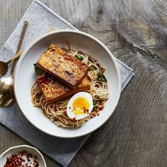 San Bei (Taiwanese Three Cup) Tofu and Ramen recipe on Food52