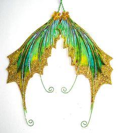 OOAK Fairy Pixie Fantasy Art Doll Wings ADSG by IndigoMoonWings, $12.00