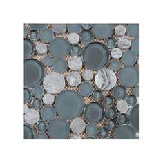 Features:  -Material: Glass.  -Shade variation: V1-Uniform appearance.  -Chemical resistant.  Product Type: -Backsplash tile/Shower tile/Floor tile/Exterior tile/Pool tile/Wall Tile.  Finish: -Grey.