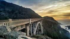 Coastline sunset 🌄 While driving down the coast you can stop wherever you want and you probably won't be disappointed by what you see! Do you prefer sunset or sunrise? . #nature #travel #nationalpark #coast #california #usa #photography #bridge #naturelover #sunset #bigsur #bridge #getoutside #oceanlove #igersgermany #coastline #westcoast #scenery #wondermore #folkscenery #roadtrip #bigsurlocals #montereybaylocals - posted by Marvin Erckens https://www.instagram.com/marvinerckens - See more…