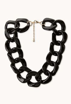 Statement-Making Chain Choker | FOREVER21 - 1000071085