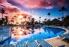 Caribbean sunrise #PuntaCana