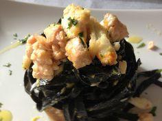 La Cucina di Stagione: Carbonara di mare ed erbe aromatiche