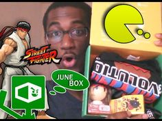 1UP BOX JUNE EDITION REACTION!!!!!!!!!