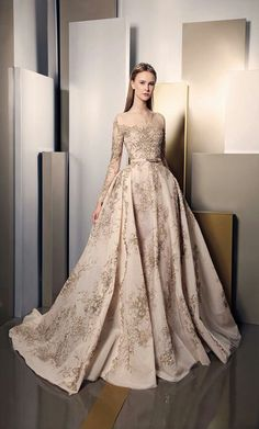 Ziad Nakad Evening Dress