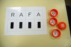 Spelling Activities, Class Activities, Preschool Journals, Felt Quiet Books, Fabric Boxes, Learning Letters, Busy Book, Reggio Emilia, Kindergarten