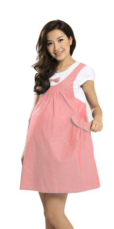 2016 summer sweet women's pregnant skirt cotton bow lovely dress short sleeve soft plus size Maternity casual patchwork