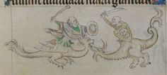 The Queen Mary Psalter 1310-1320 Royal MS 2 B VII  Folio 144r
