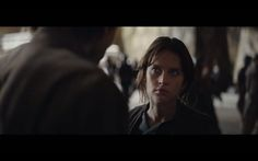 Jyn Erso Rogue One Trailer << from what I can see in the trailers this picture is a snapshot of their relationship.