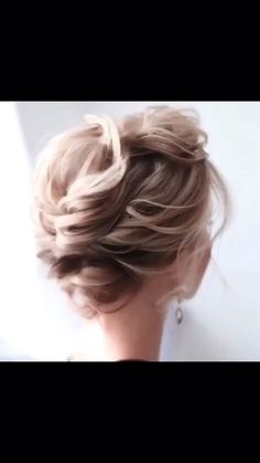 newest short hair updo hairstyle ideas 12 ~ Modern House Design Braided Hairstyles For Wedding, Short Wedding Hair, Braids For Short Hair, Up Hairstyles, Short Hair Styles, Summer Wedding, Short Hair Bridesmaid Hairstyles, Short Hair Wedding Styles, Bangs Hairstyle