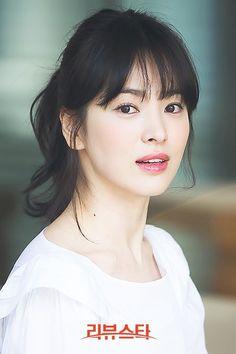 TÓC MÁI LƯA THƯA: Học Song Hye Kyo các kiểu tóc để cùng mái lưa thưa sao cho thật hợp