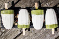 minty moringa ice cream Ice Cream, Sweets, Desserts, Drinks, Food, Peppermint, Coconut, Ice, No Churn Ice Cream