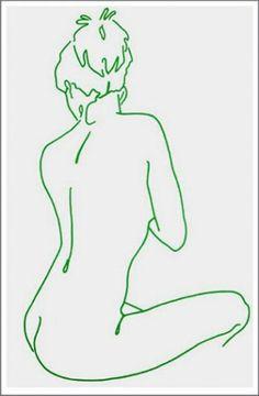 Green Felt Tip Girl