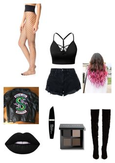 Designer Clothes, Shoes & Bags for Women Bad Girl Outfits, Teenager Outfits, Edgy Outfits, Teen Fashion Outfits, Retro Outfits, Cute Casual Outfits, Costume Halloween, Riverdale Fashion, Egirl Fashion