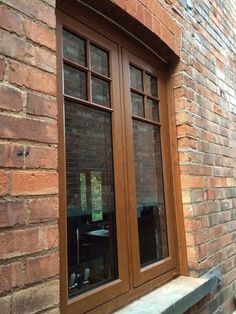 Adept Improvements installed these Golden Oak Residence 9 windows Cute Suitcases, Golden Oak, Window Design, Bay Window, Windows And Doors, Extension Ideas, Colours, Nail, Bedroom