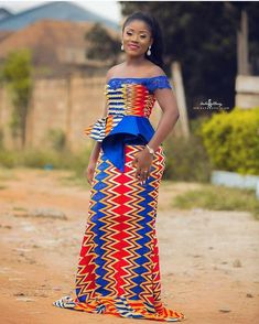 Super Beautiful Kente Styles For This Season – Rendy Trendy African Fashion Designers, African Print Fashion, African Fashion Dresses, Ankara Fashion, Africa Fashion, African Attire, African Wear, African Dress, Ghana Traditional Wedding