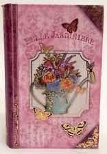 New Punch Studio Butterfly Soap In Floral Keepsake Book Box- Belle Jardiniere