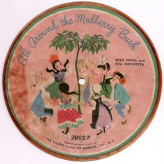 Images of Record Guild of America Children's Records taken from Archive of Recorded 78s