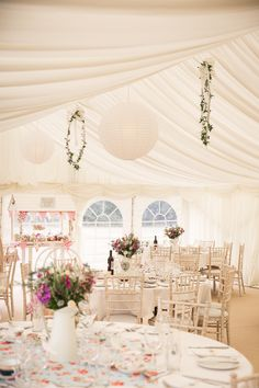 Pretty Marquee Wedding http://www.kategrayphotography.com/ Whimsical wonderland weddings