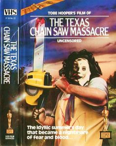 The Texas Chainsaw Massacre VHS