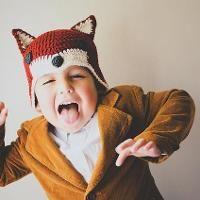 Crocheting : Mr. Fox hat
