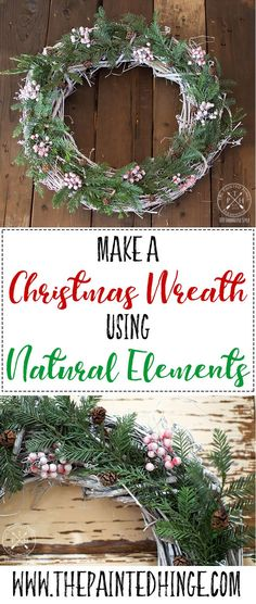 Make a Christmas wre