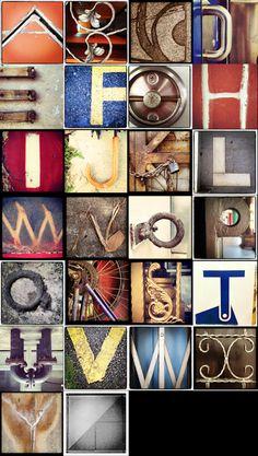 iPhone Instagram Urban Alphabet Project!