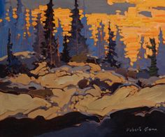 Robert Genn, artist, original landscape paintings at White Rock Gallery Landscape Artwork, Contemporary Landscape, Abstract Landscape, Impressionist Landscape, Landscape Design, Canadian Painters, Canadian Artists, Environment Painting, Traditional Paintings