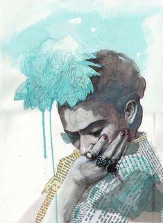 21 ilustraciones fanart de Frida Kahlo