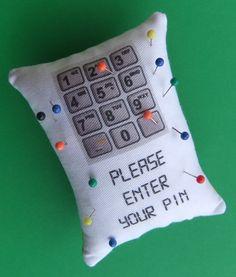 sewing humor #pincushion