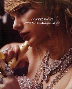 | Taylor Swift - Don't Blame Me |