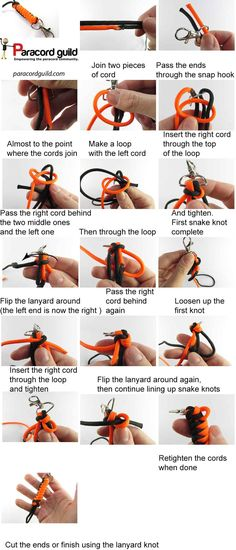 How to make a paracord lanyard - Paracordguild.com