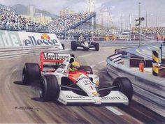 Senna, Mclaren 91.