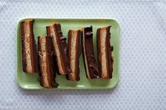 How to Make Twix at Home on Food52: http://food52.com/blog/10505-how-to-make-twix-bars-at-home #Food52