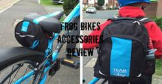 Check out our review of the fantastic Frog Bikes Team Sky rucksack and saddle pack. Bike Accessories, North Face Backpack, Sky, Electronics, Check, Bags, Heaven, Handbags, Heavens