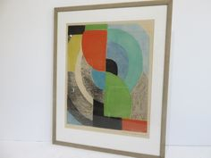 Mid-Century Modern Abstract Signed,Numbered And Dated. by FLORIDAMODERN on Etsy