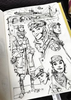 Ian McQue on Twitter: Doodling. http://t.co/hRz770p1m7