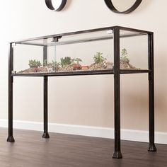Harper Blvd Display/ Terrarium Console/ Sofa Table | Overstock.com Shopping - The Best Deals on Coffee, Sofa & End Tables