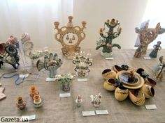 Opishnya. Table Settings, Presents, Pottery, Painting, Decor, Gifts, Ceramica, Decoration, Painting Art