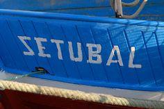 Boat. Town of Setubal.