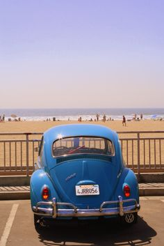 California Summer! #volkswagon #Beach