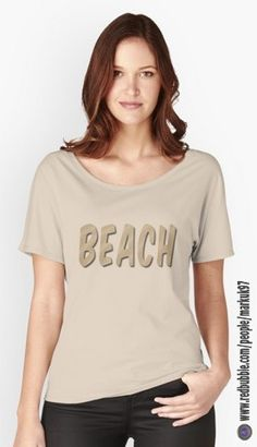 60376934b Beach Word Women's Relaxed Fit T-Shirts… Pride Shirts, Love Yourself Text,