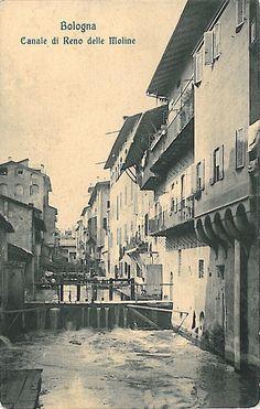 Bologna Città della Seta: Canale di Reno in Via delle Moline - Foto Antonio Brighetti