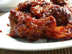 Ayam Manis Pedas ala Korea